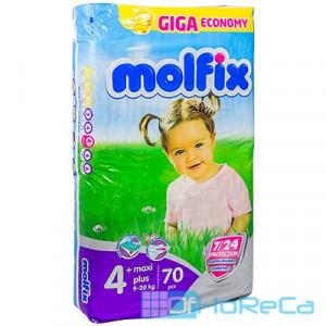 Подгузники детские   9-20кг 70 шт/уп MOLFIX MAXI PLUS GIGA   ''HAYAT''   1/100
